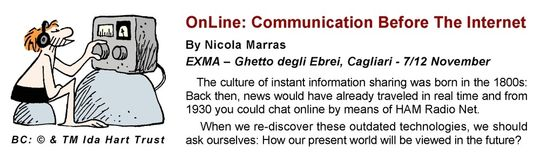 Download the presentation of the communication exhibit by Nicola Marras