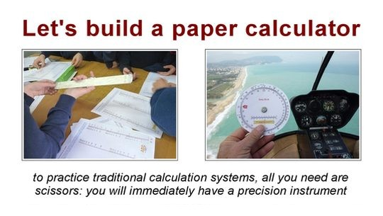 Download the paper calculators by Nicola Marras